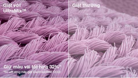 Sự khác biệt giữa giặt Ultramix và giặt thường