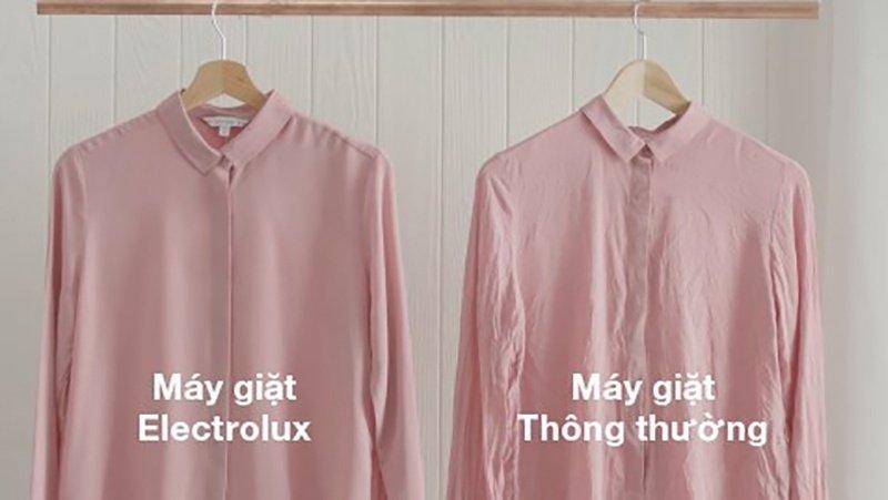 Sự khác biệt khi sử dụng máy giặt Electrolux 8 kg EWF12853S và máy giặt thường