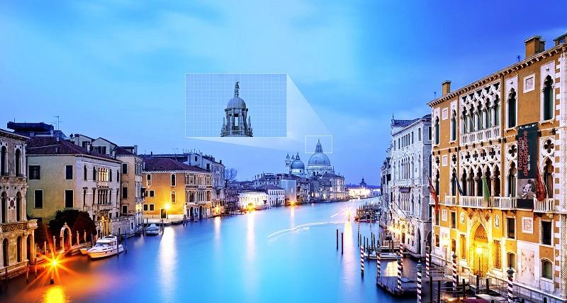Chiều sâu hoàn hảo cho hình ảnh của Smart Tivi Samsung 55 Inch UA55M5503