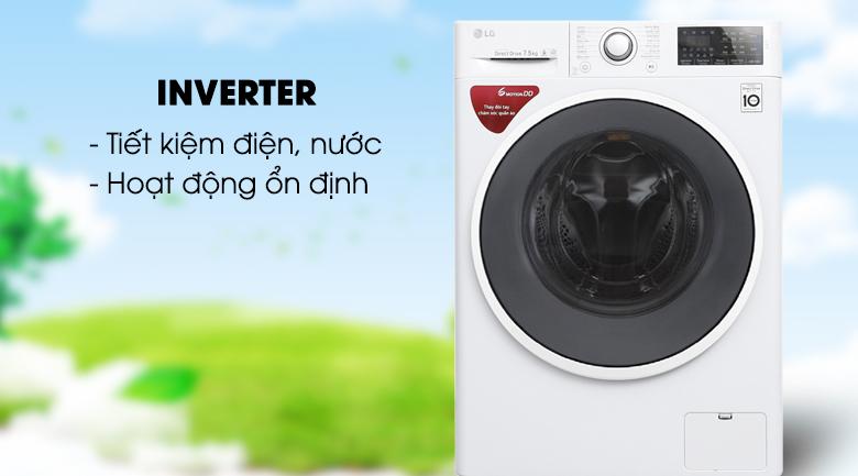 Công nghệ Inverter - Máy giặt LG Inverter 7.5 kg FC1475N4W