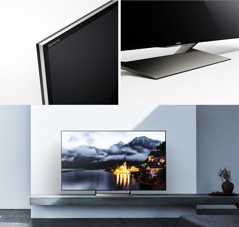 Thiết kế kiểu dáng hiện đại sang trọng với tivi Sony 49 inch KD-49X9000E