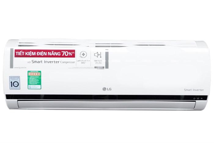Thiết kế của thiết bị điều hòa LG V10ENV 1 HP