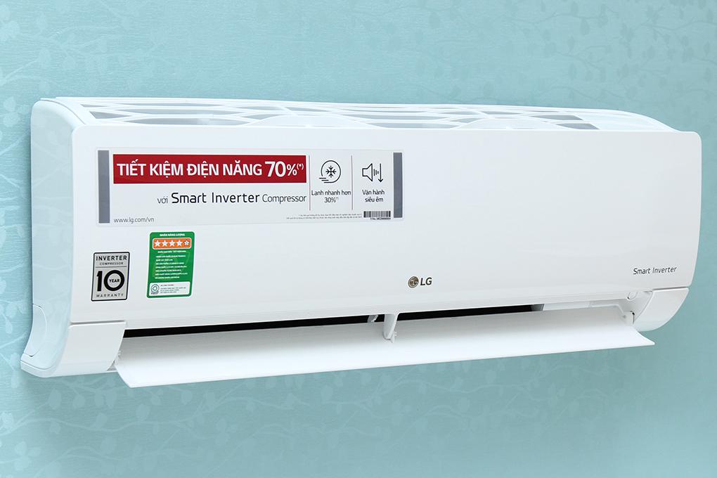 Điều hòa LG 1 chiều Inverter 1.5 HP V13END nổi bật, tinh tế
