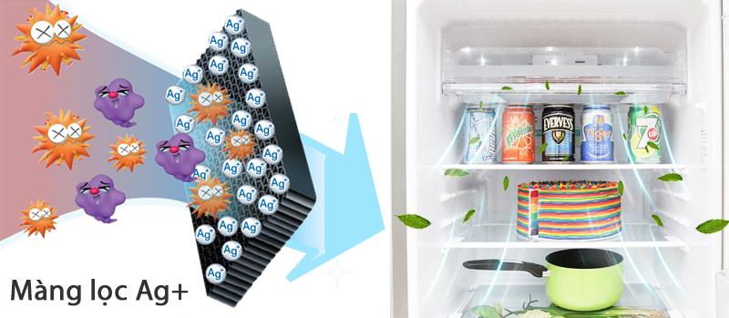 Tủ lạnh thông minh Sharp Inverter 165 lít SJ-X176E-SL