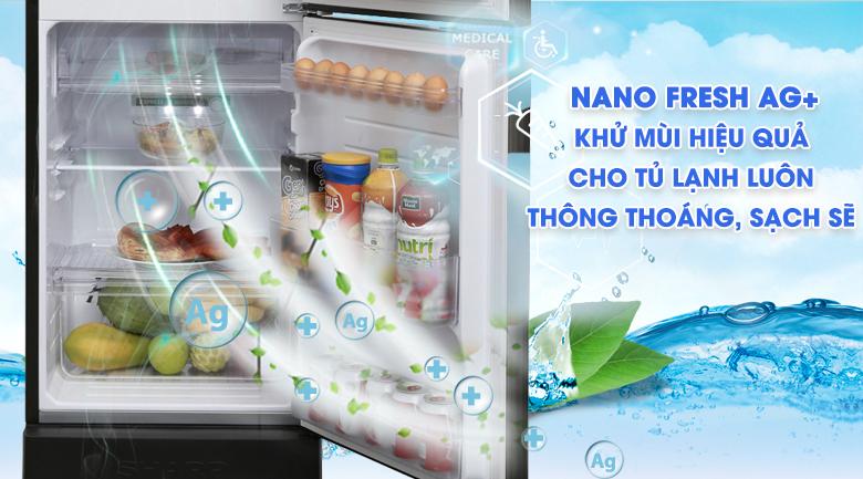 Bộ lọc phân tử bạc Nano Ag+ - Tủ lạnh Sharp Inverter 165 lít SJ-X176E-SL