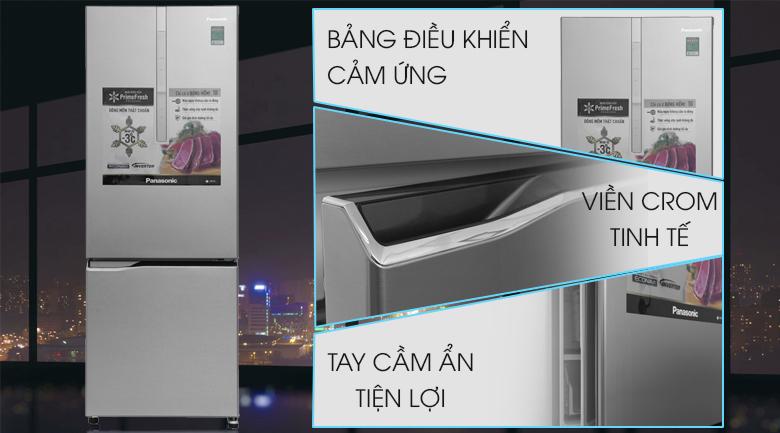 Tủ lạnh Panasonic Inverter 290 lít NR-BV329XSVN