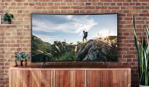 Smart Tivi Samsung 55 INCH UA55NU7300KXXV sở hữu thiết kế siêu mỏng ấn tượng