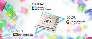 Công nghệ 4K X-Reality PRO có khả năng xử lý hình ảnh vượt trội