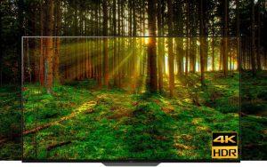 Công nghệ hiện đại 4K HDR trên Android Tivi Sony 4K 55 inch KD-55A8F
