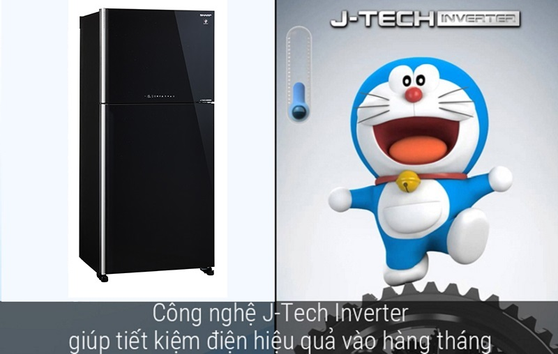 Tiết kiệm lên đến 35% điện năng tiêu thụ với công nghệ J-Tech Inverter
