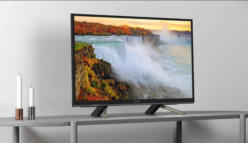 Thiết kế siêu mỏng của Smart Tivi Sony 32 inch KDL-32W610F