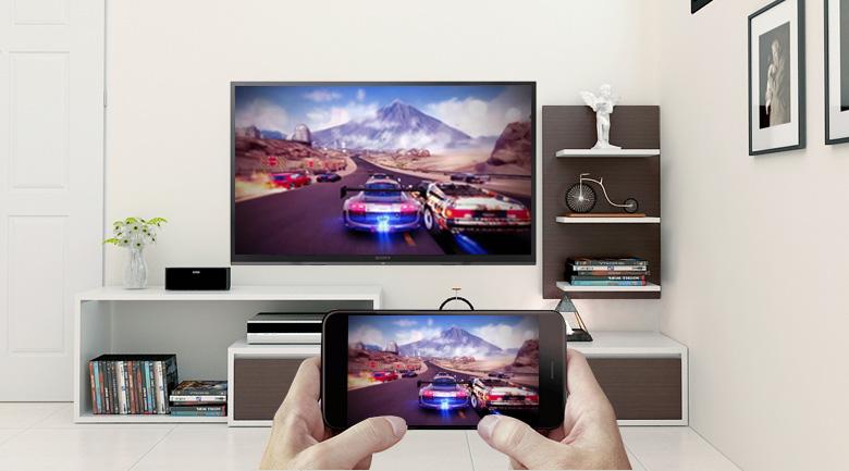 Screen Mirroring trên Smart Tivi Sony 32 inch KDL-32W610F