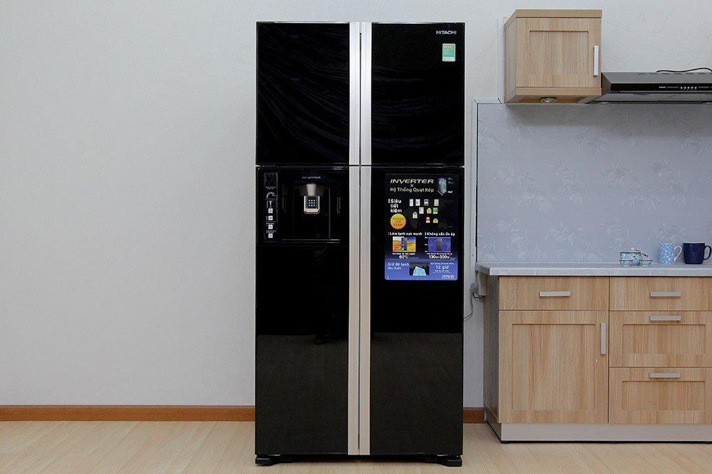Tủ lạnh Hitachi R-W660PGV3(GBK) 540 lít