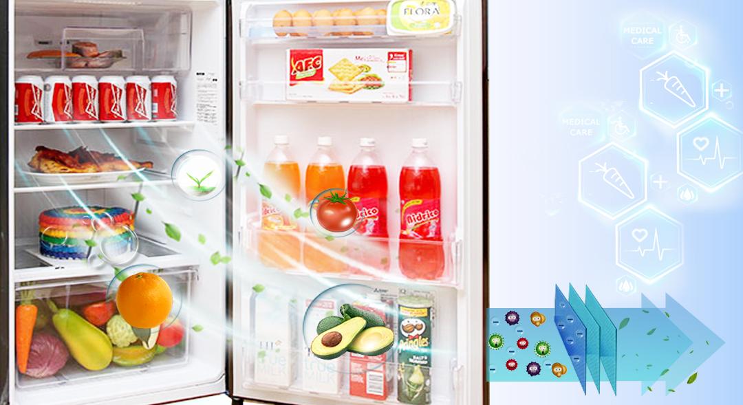 Kháng khuẩn khử mùi đảm bảo an toàn thực phẩm