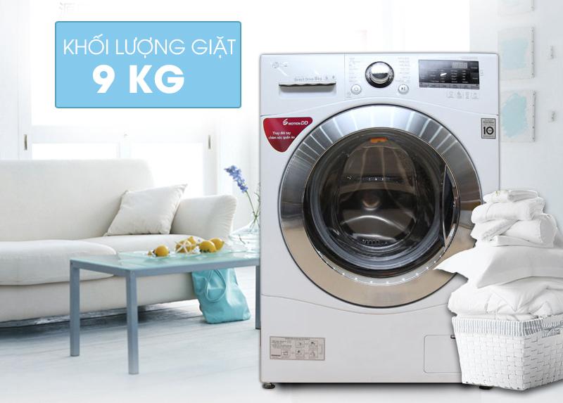 Máy giặt LG 9 kg F1409NPRW
