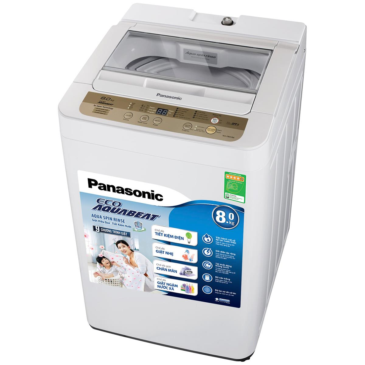 Mua máy giặt panasonic