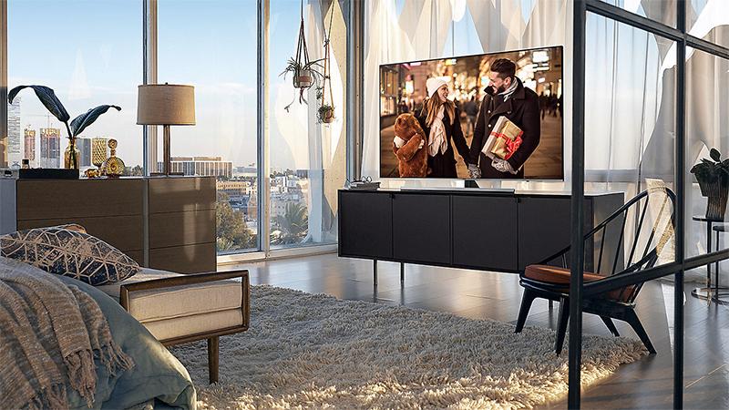hình tổng quan Smart Tivi Samsung 4K 82 inch UA82NU8000
