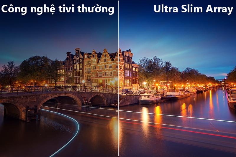 công nghệ ultrar slim aray Smart Tivi Samsung 4K 82 inch UA82NU8000