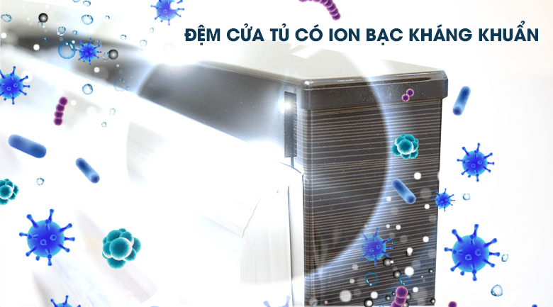 Kháng khuẩn khử mùi đảm bảo an toàn thực phẩm - Tủ lạnh Mitsubishi Electric Inverter 231 lít MR-FV28EM-BR-V