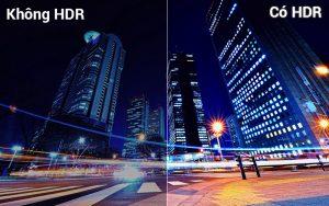 Công nghệ HDR cho hình ảnh chân thực Smart Tivi Samsung 4K UA49NU7100
