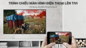 Chiếu màn hình điện thoại lên Smart Tivi Samsung 4K UA49NU7100