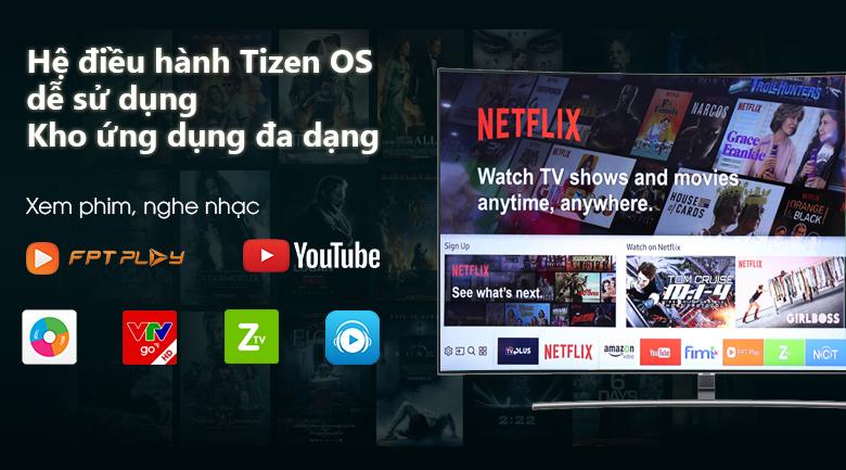 Hệ điều hành Tizen với kho ứng dụng phong phú