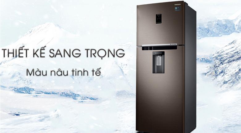 Tủ lạnh Samsung Inverter 380 lít RT38K5982DX/SV có thiết kế sang trọng tinh tế
