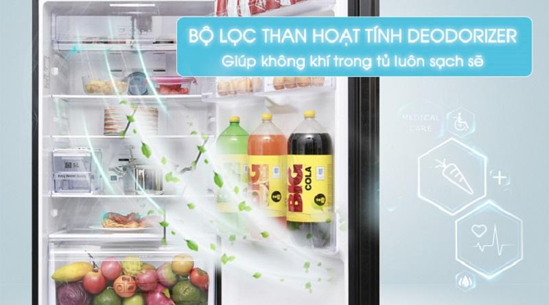 Bộ lọc than hoạt tính Deodorizer - Tủ lạnh Samsung Inverter 380 lít RT38K5982DX/SV