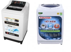 So sánh ngắn gọn giúp bạn nên mua máy giặt toshiba hay panasonic?