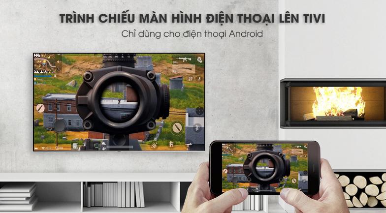 Công nghệ Screen Mirroring Smart Tivi Samsung 4K 55 inch UA55NU8000