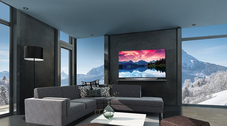 Thiết kế siêu mỏng, sang trọng trên Smart Tivi OLED LG 4K 65 inch 65C8PTA