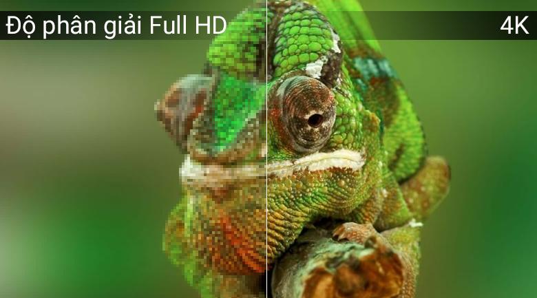 Độ phân giải 4K trên Tivi OLED LG 65C8PTA