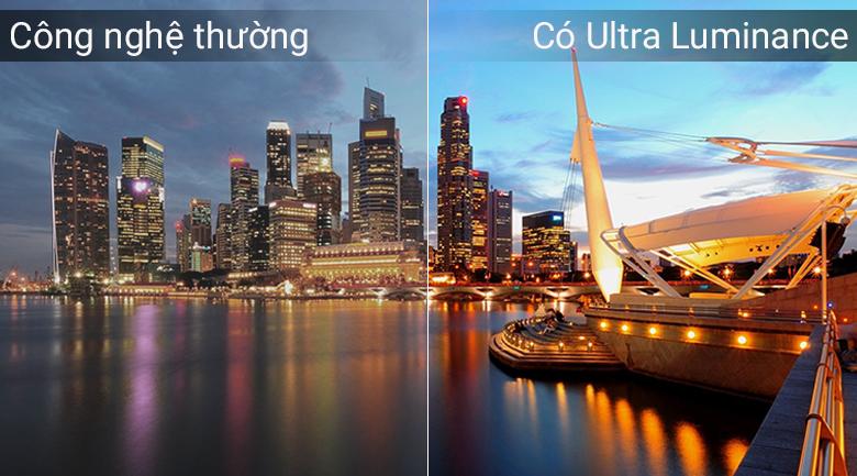 Tăng cường độ sáng hiệu quả với công nghệ ULTRA Luminance trên Tivi OLED LG 65C8PTA