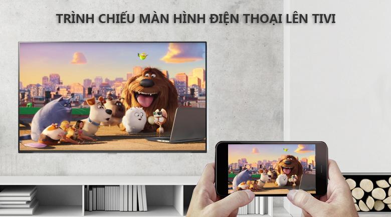 Trình chiếu nội dung hình ảnh từ điện thoại lên tivi