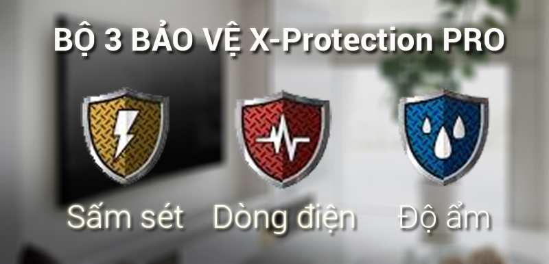 Công nghệ X-Protection PRO trên Smart Tivi Sony 4K 49 inch KD-49X7000F