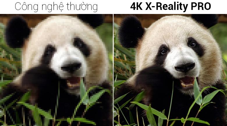 Android Tivi Sony 4K 60 inch KD-60X8300F - Công nghệ 4K X-Reality PRO
