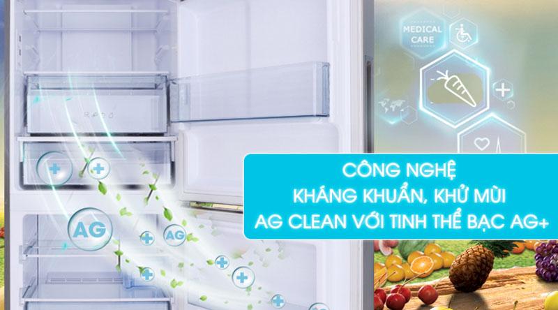 Công nghệ Ag Clean-Tủ lạnh Panasonic Inverter 255 lít NR-BV289QSV2