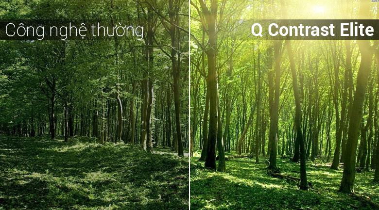 Hình ảnh rõ nét vượt trội, bất chấp mọi điều kiện ánh sáng cùng công nghệ Q Contrast Elite