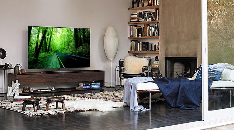 Thiết kế hiện đại của Smart Tivi QLED Samsung 4K 65 inch QA65Q9FN