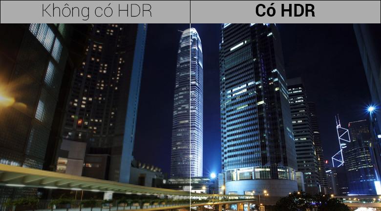 Hình ảnh thêm sống động cùng công nghệ Q HDR Elite chuẩn HDR 10+