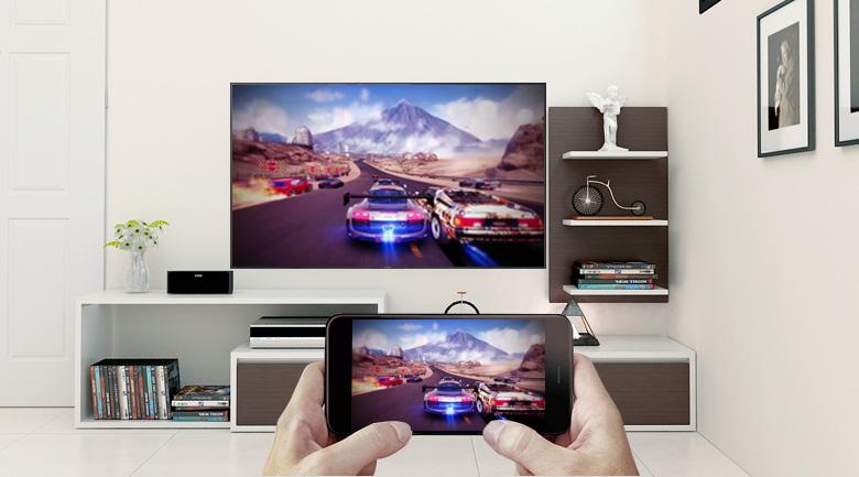 Trình chiếu màn hình điện thoại lên tivi thông với công nghệ Screen Mirroring