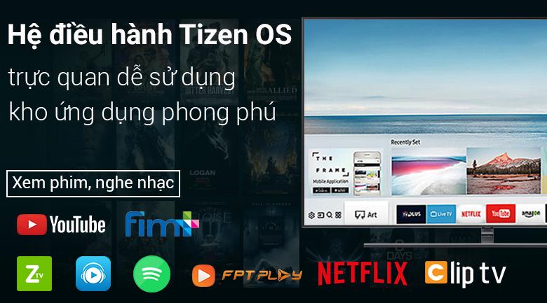 Hệ điều hành Tizen OS trên Smart Tivi QLED Samsung 4K 75 inch QA75Q9FN