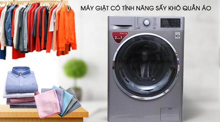 Chức năng sấy khô quần áo cực hữu ích