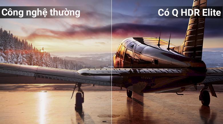Công nghệ Q HDR Elite trên Tivi QLED Samsung QA49Q6FN