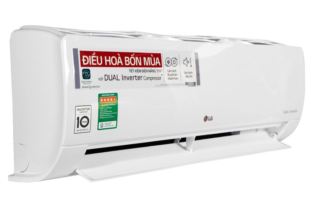 Điều hòa 2 chiều LG Inverter 9200 BTU B10END