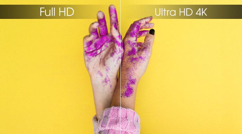 Smart Tivi Samsung 4K 55 inch UA55RU7400 - Ultra HD 4K