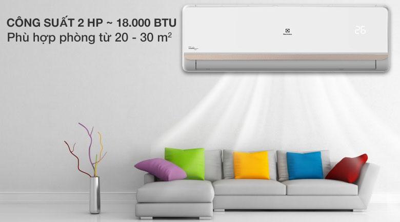 Máy lạnh Electrolux Inverter 2 HP ESV18CRR-C2