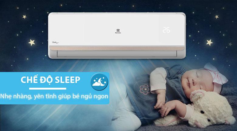 Chế độ ngủ đêm - Máy lạnh Electrolux Inverter 2 HP ESV18CRR-C2