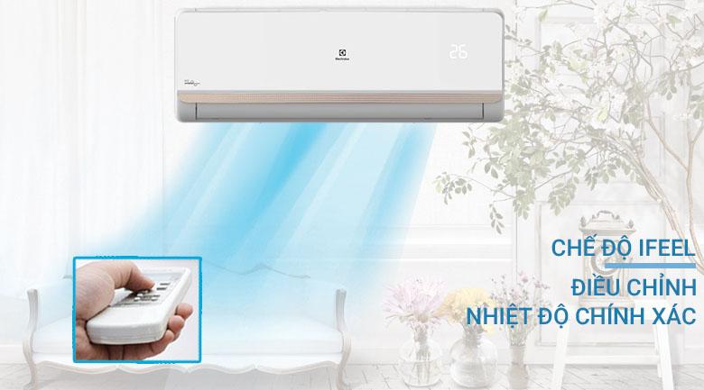 Chế độ iFeel - Điều hòa Electrolux Inverter 1.5 HP ESV12CRR-C2