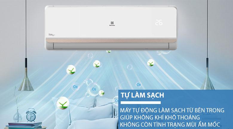 Tự làm sạch - Máy lạnh Electrolux Inverter 1.5 HP ESV12CRR-C2